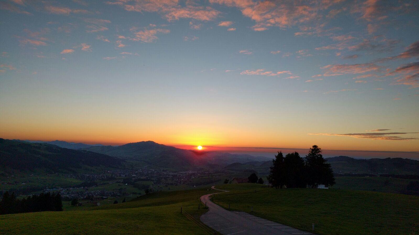 Sonnenuntergang 2016-08-12